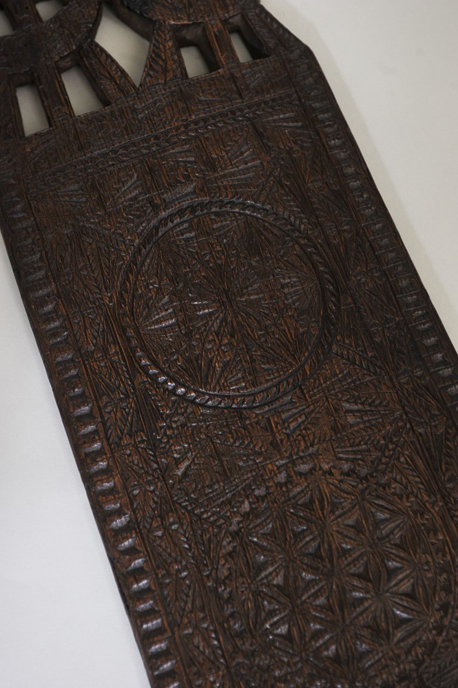 Wonderful Freisan 18th Century Mangle Board Elaine